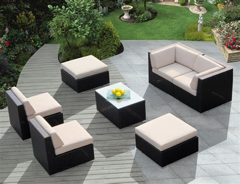 painting resin wicker furniture outdoor decorations