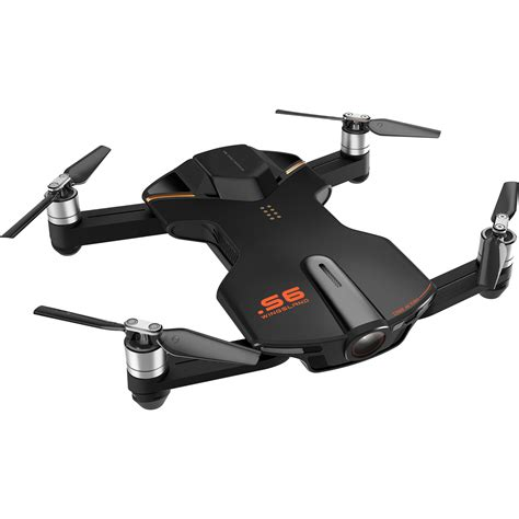 Drone Wingsland S6 wingsland s6 pocket drone black s6 black b h photo