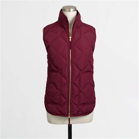 Vest Hoodie Oakley Factory Pilotrockzillastore 1 j crew factory quilted puffer vest in lyst