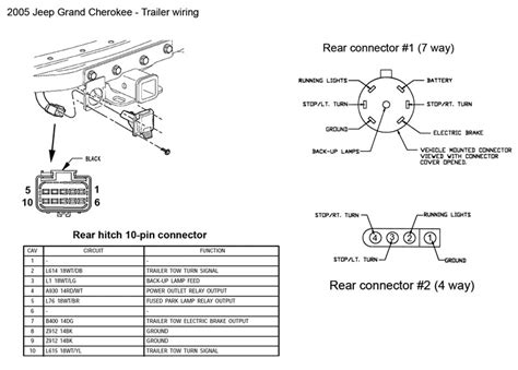 2007 jeep grand trailer light wiring diagram