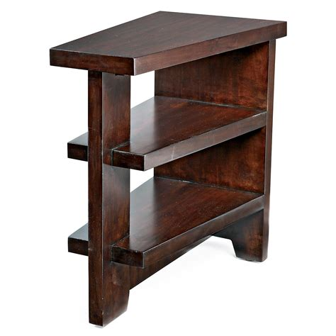 Recliner Table by Wedge End Table End Wedge Side Table Wedge Style End