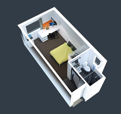 One Bedroom House Plans by Rooms Amp Pricing Sydney University Village My Student