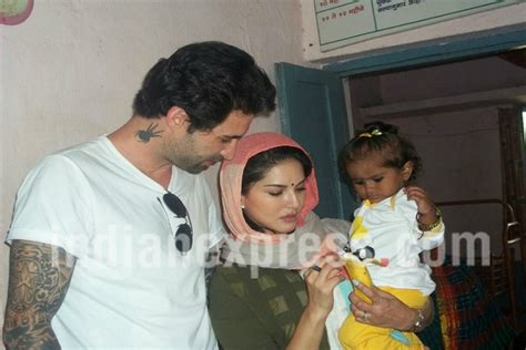 See first confirmed photos of Sunny Leone and husband