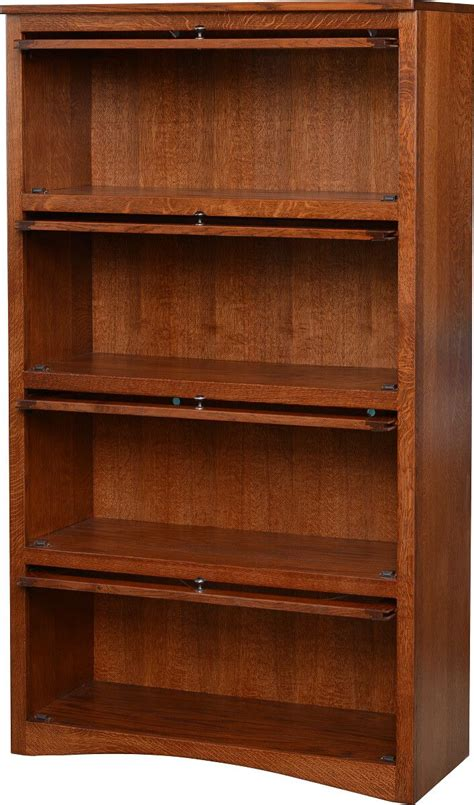 barrister bookcase door slides montour 4 door barrister bookcase countryside amish