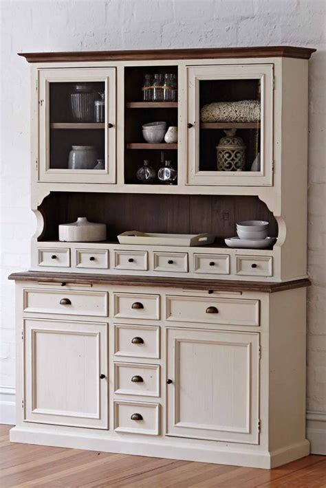 Sideboards: glamorous antique white buffet and hutch Buffet Table Ikea, Buffet Hutch, Antique