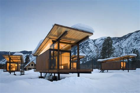 Rolling Cabins by Rolling Huts Kundig Archdaily