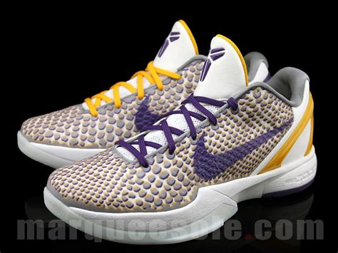 along with the gods zoom nike zoom kobe vi 6 lakers home 3d sneakerfiles