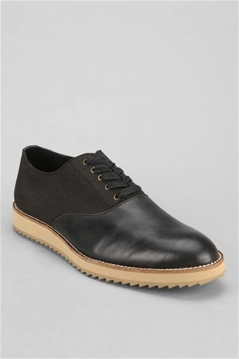 oxford shoes outfitters outfitters mosson bricke ripple oxford shoe in black
