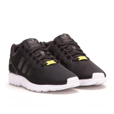 black zx flux adidas zx flux black black white m19840 allike store