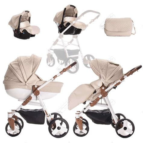 Set 3in1 1 friedrich hugo easy comfort 3 in 1 kombi kinderwagen 519 90