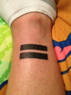 equal sign tattoo 37 incredibly discreet and beautiful feminist tattoos