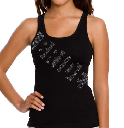 house of bachelorette glam bride tank top the house of bachelorette