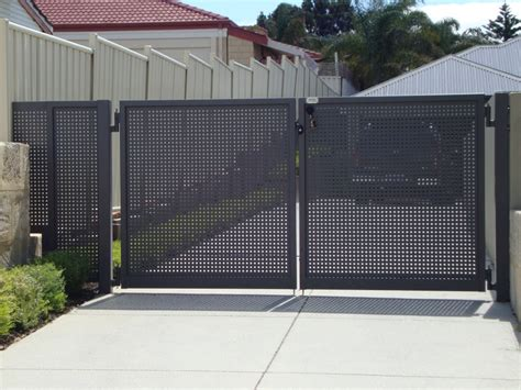 swing gate swing gates perth bi fold gates single double swing