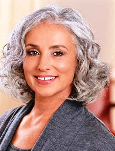 shoulder length hairstyles gray hair women s hairstyles for grey hair helpful tips and