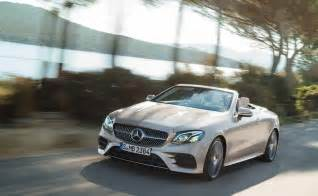 Mercedes E Class Cabrio 2018 Mercedes E Class Cabriolet Revealed Debut At Geneva