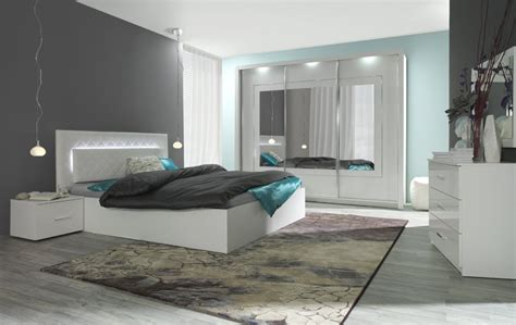 design schlafzimmer komplett komplett schlafzimmer panarea in hochglanz wei 223 mit