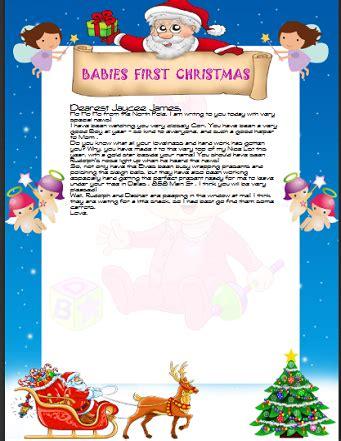 letter santa santa claus letters