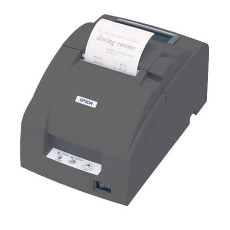 Epson Tm U220b Lan Printer Hitam by Epson Tm U220b Impact Dot Matrix Receipt Printer Auto Cutter