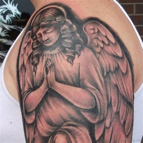 tattoo angel praying 50 excellent praying hands tattoos for shoulder