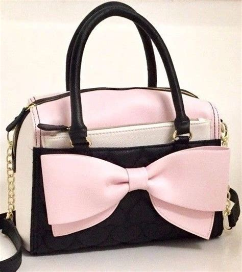 Betsey Johnsons Corset Satchel by Betsey Johnson Blush Pink Bow Satchel With Pouch Crossbody
