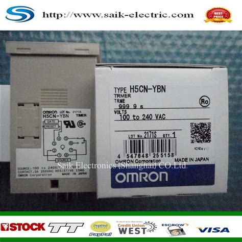 Digital Timer H5cn Ybn Omron h5cn xnb h5cn ybn 100 to 240vac new and original timer