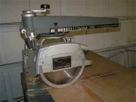 Radial Arm Saw At Old Woodworking Tools Net