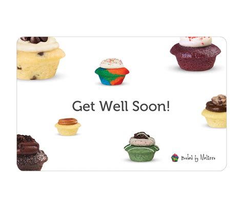 Get Well Gift Cards - get well soon e gift card baked by melissa