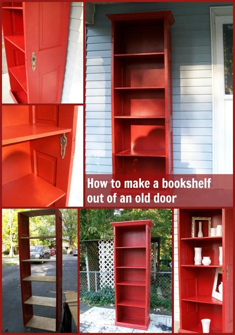 door repurposed bookshelf repurposed doors and