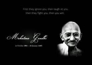 gandhi famous quotes quotesgram