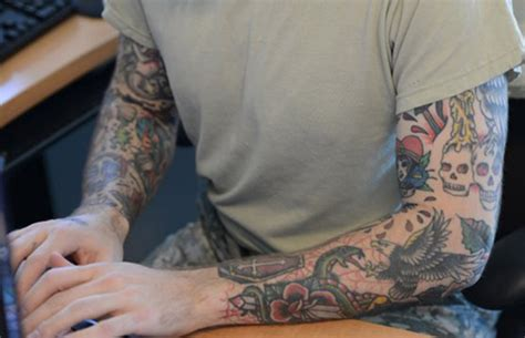 national guard tattoo policy kentucky guardsman sues clarksvillenow