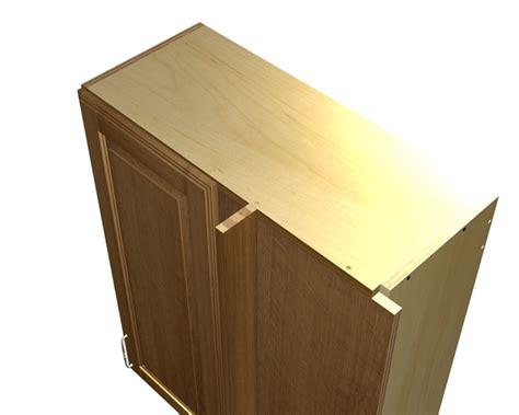1 door blind corner wall cabinet right side hinge