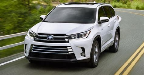 toyota highlander hybrid 2018 2018 toyota highlander hybrid changes price 2018 2019