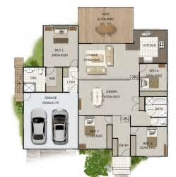 level house plans split level house plan 4 bedroom sloping land house plan