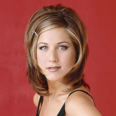 1980s pubic hair jennifer aniston in friends 1990s the rachel hair cut