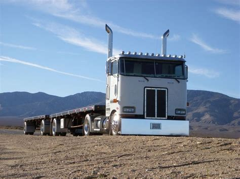 Handmade In California - peterbilt cabover what an amazing looking vehicle