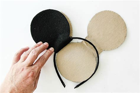 How To Make Mickey Mouse Ears With Construction Paper - diy skellington mickey mouse ears myprintly