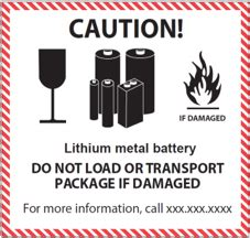 A Step By Step Instruction To Prepare Your Lithium Battery Shipment Including Packing And Lithium Ion Battery Label Template