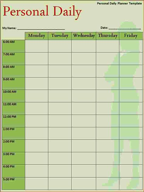 daily planner template for ipad 3 free daily schedule template ganttchart template