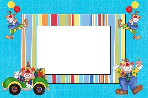 decorar fotos para cumpleaños online tarjetas de cumplea 241 os infantiles para editar e imprimir