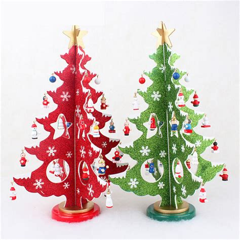 36cm 14ft mini design a complete diy christmas tree 1pcs