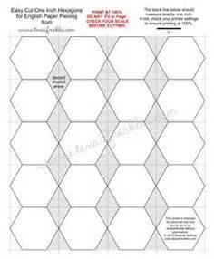hexies on pinterest hexagons english paper piecing and