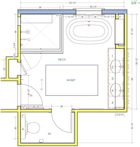 Bathroom Floor Plan Ideas by Master Bathroom Floor Plans No Tub Siudy Net