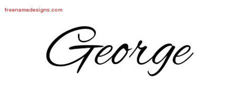 tattoo name george cursive name tattoo designs george download free free