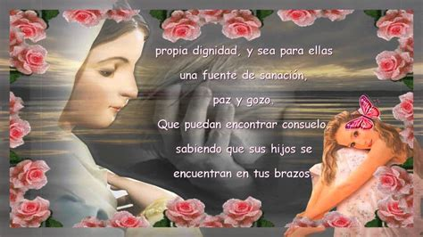 oracion con imagen a 6 meses de una hermana fallecida oraci 243 n de la mujer que abort 243 youtube