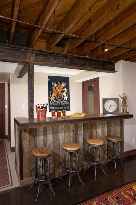 rustic basement bar rustic basement bar rustic basement dc metro by