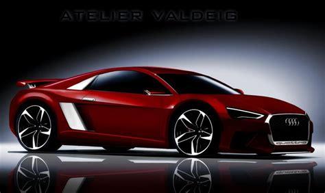 audi supercar generation audi r8 supercar rendered autotribute
