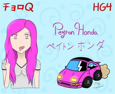 Choro Q Drawing by Choro Q Hg 4 Peyton Honda By Maisydaydream On Deviantart