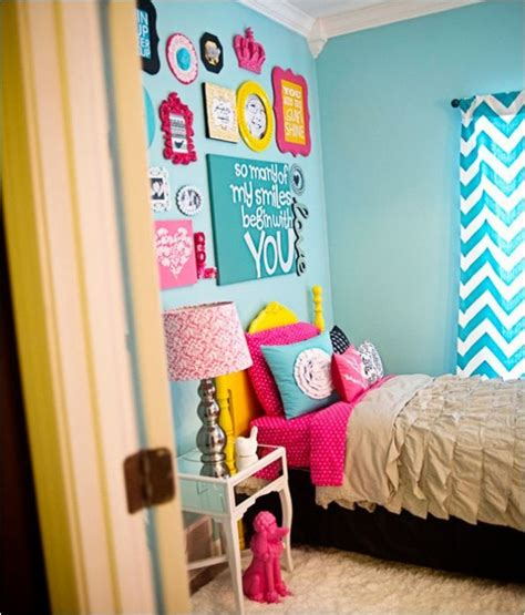 bright for bedroom a bright bedroom design for your teenage girl kidsomania