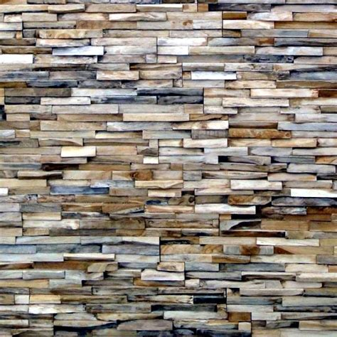 wall of wood rustic wall cladding wood panels of wonderwall studios