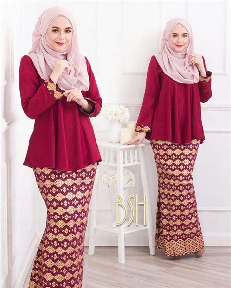 Baju Mengandung Songket 17 fesyen baju kurung terkini design cantik untuk wanita moden